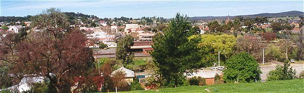 View of Castlemaine.